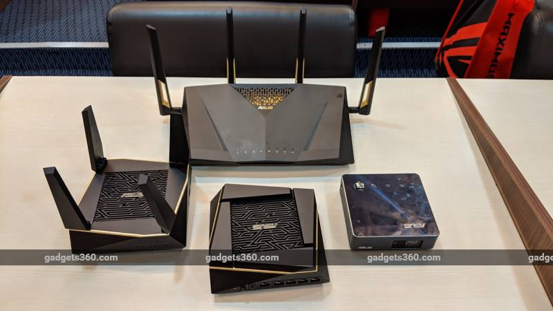 Asus RT AX88U, Asus Ai Mesh AX6100 Wi-Fi 6 Routers, Gaming Accessories, and PC Components Launched in India