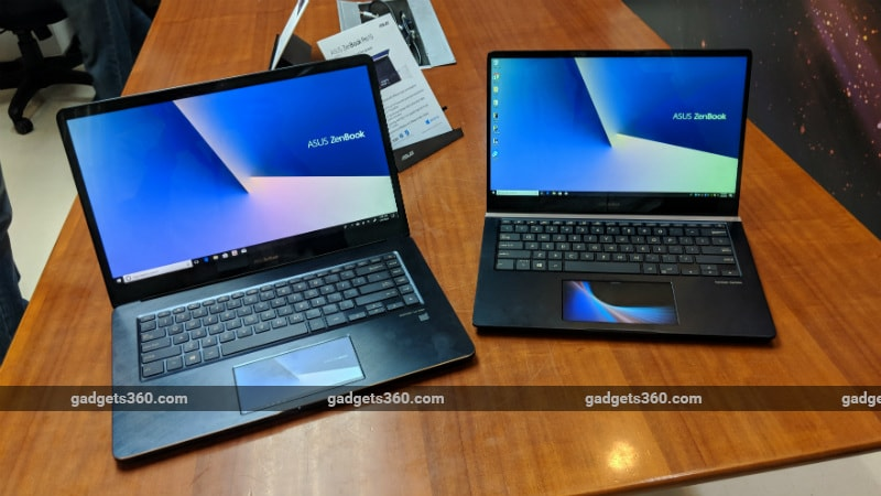 Asus ZenBook Pro 14, ZenBook Pro 15 With ScreenPad Launched