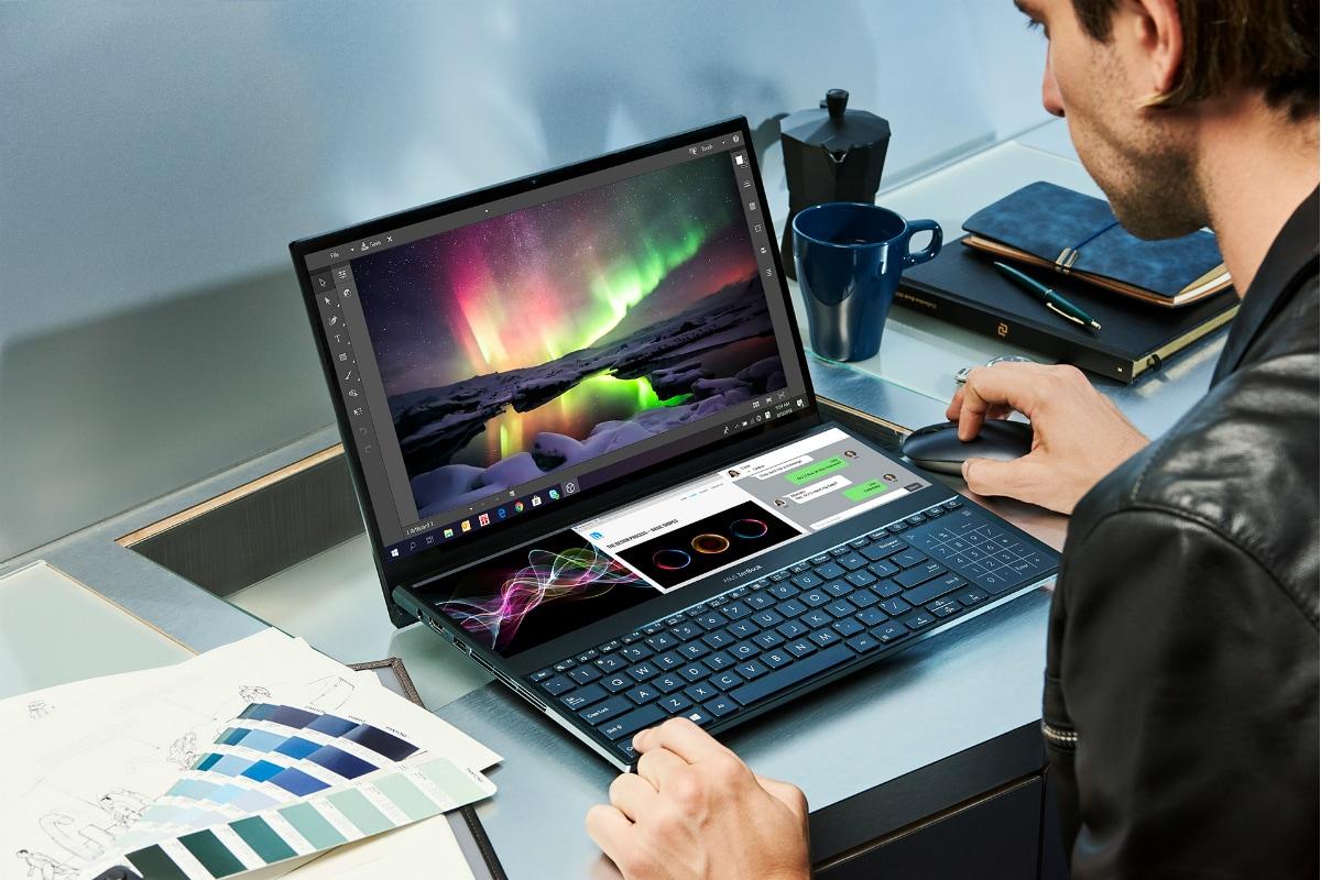 Dual beeldscherm laptop voor studenten - Asus ZenBook Duo