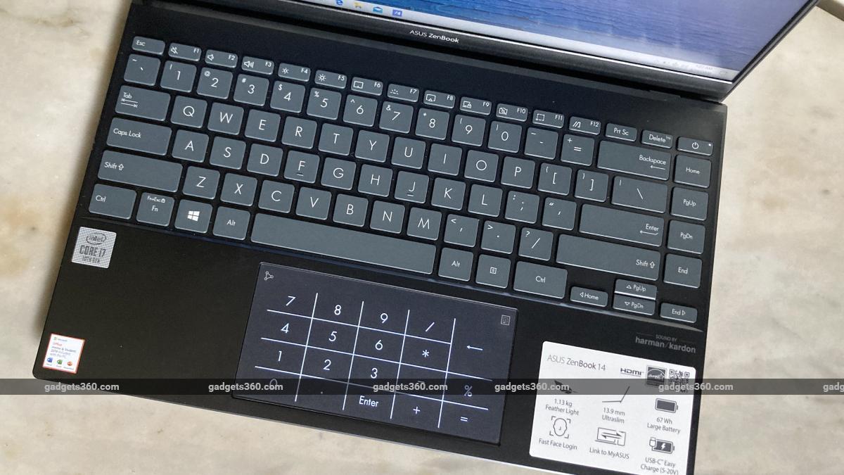 asus zenbook ux425 keyboard ndtvjpg asus