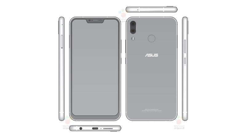 Asus ZenFone 5 With iPhone X-Like Notch Leaked Ahead of MWC Launch