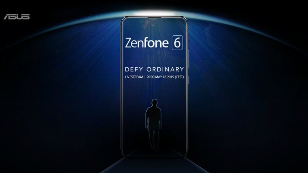 Asus ZenFone 6 Teased With Bezel-Less, Notch-Less Display Design Ahead of May 16 Launch