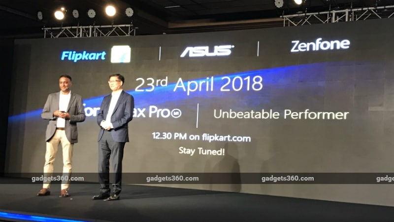 Asus Zen Fone Max Pro India Launch Soon Will be Available via Flipkart From April 23