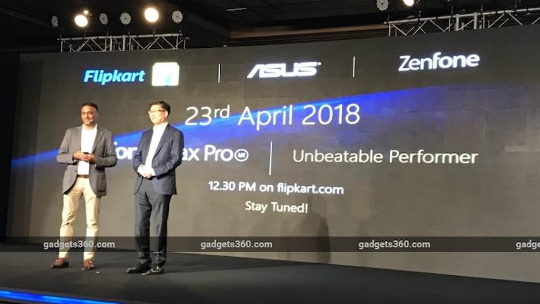 Asus ZenFone Max Pro जल्द होगा भारत में लॉन्च, 23 अप्रैल से बिकेगा फ्लिपकार्ट पर