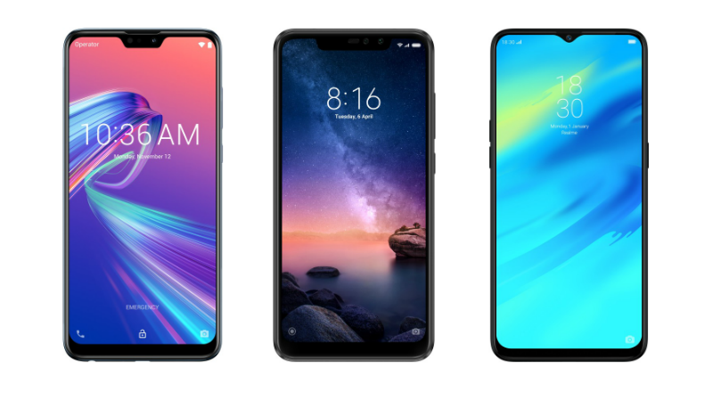Asus ZenFone Max Pro M2 vs Redmi Note 6 Pro vs Realme 2 Pro: Price in India, Specifications Compared