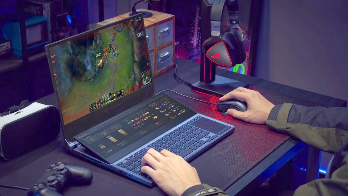 Asus ROG Zephyrus Duo 15 Dual-Screen Gaming Laptop With 10th Gen Core i9, Nvidia GeForce RTX Super Launched
