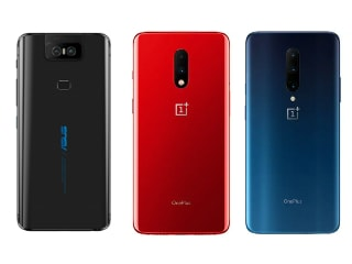Asus ZenFone 6 vs OnePlus 7 Pro vs OnePlus 7: Price, Specifications Compared