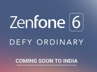 Asus ZenFone 6 Is Coming Soon to India, Listed on Flipkart