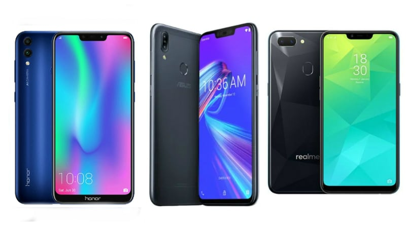Asus ZenFone Max M2 vs Honor 8C vs Realme 2: Price, Specifications Compared
