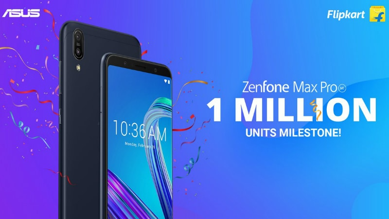 Asus ZenFone Max Pro M1 Sees 1 Million Units Sold in India in Less Than 6 Months