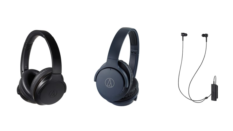 Audio Technica Launches 3 New Wireless Headphones With Noise Cancellation to Take on Bose and Sony