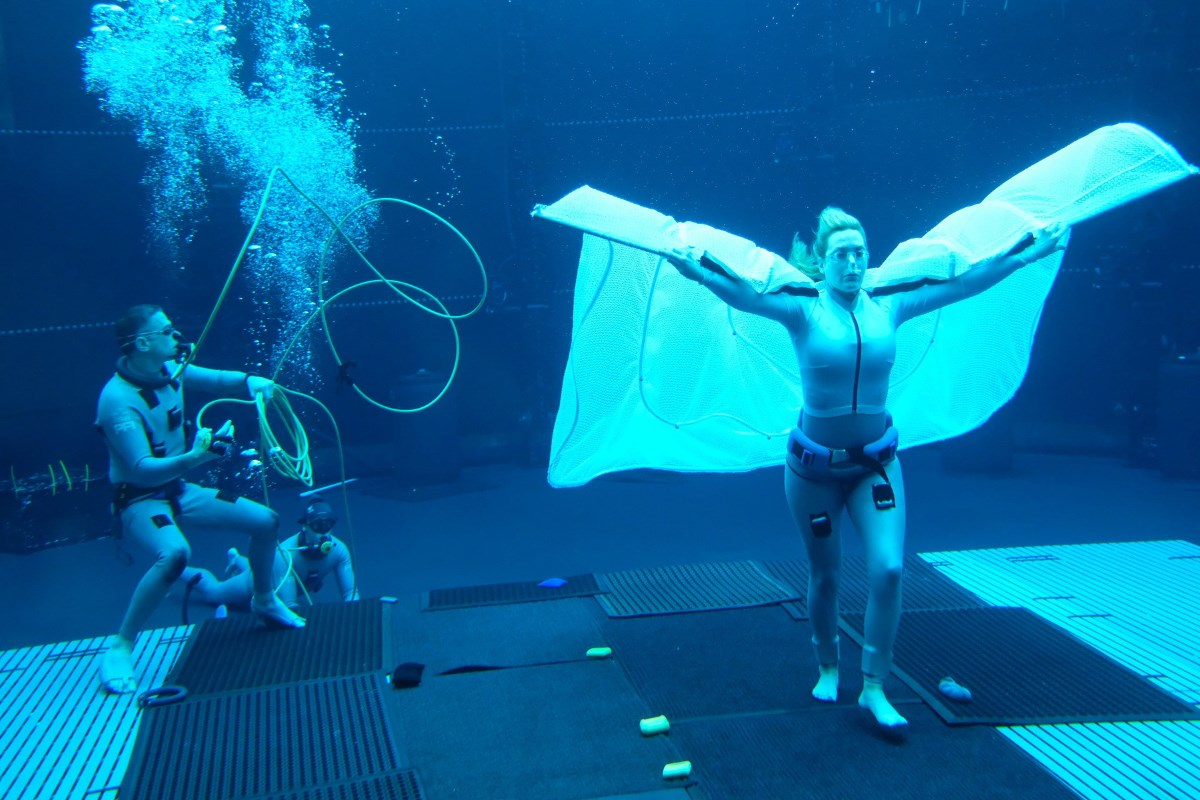 Avatar 2: Check Out Kate Winslet Freediving While Shooting Underwater Scenes