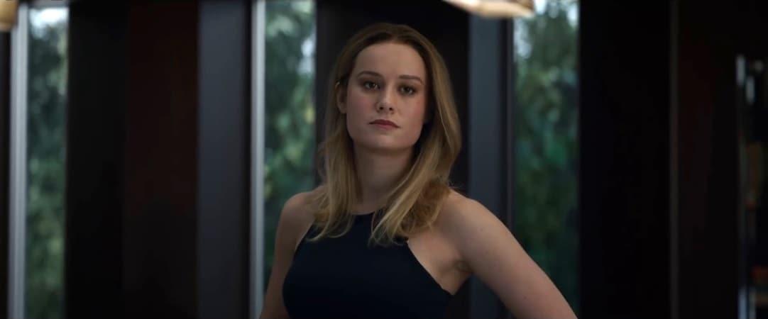 Avengers: Endgame Clip — Captain Marvel Leads the Fight Against Thanos