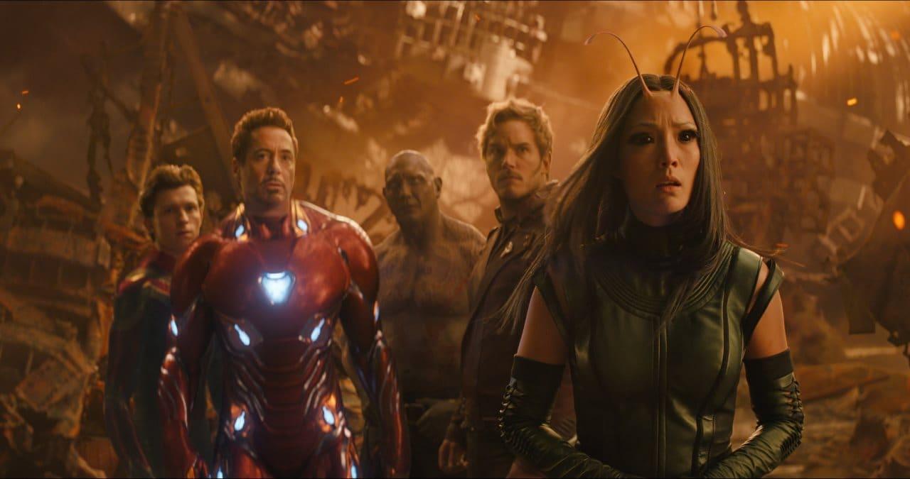 avengers infinity war iron man spidey guardians Avengers Infinity War