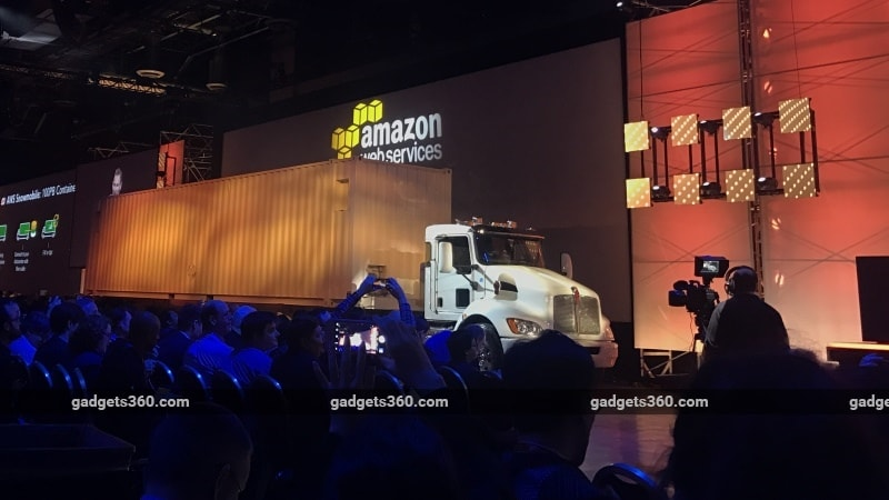 AWS Snowmobile Will Move Your Data to the Cloud in a Huge Truck