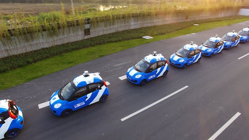 Microsoft Azure Cloud Services to Help Baidu Self-Driving Car Effort