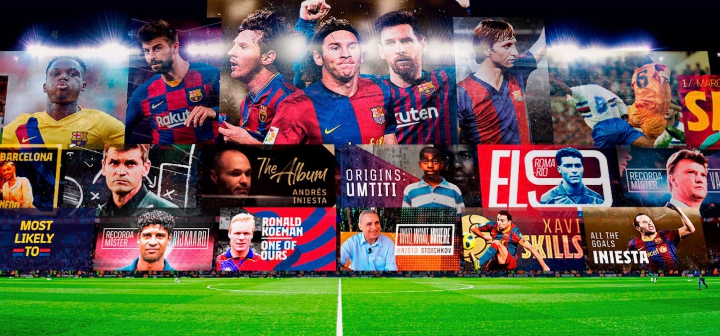 Barca Tv Fc Barcelona Launches Its Own Streaming Service Entertainment News
