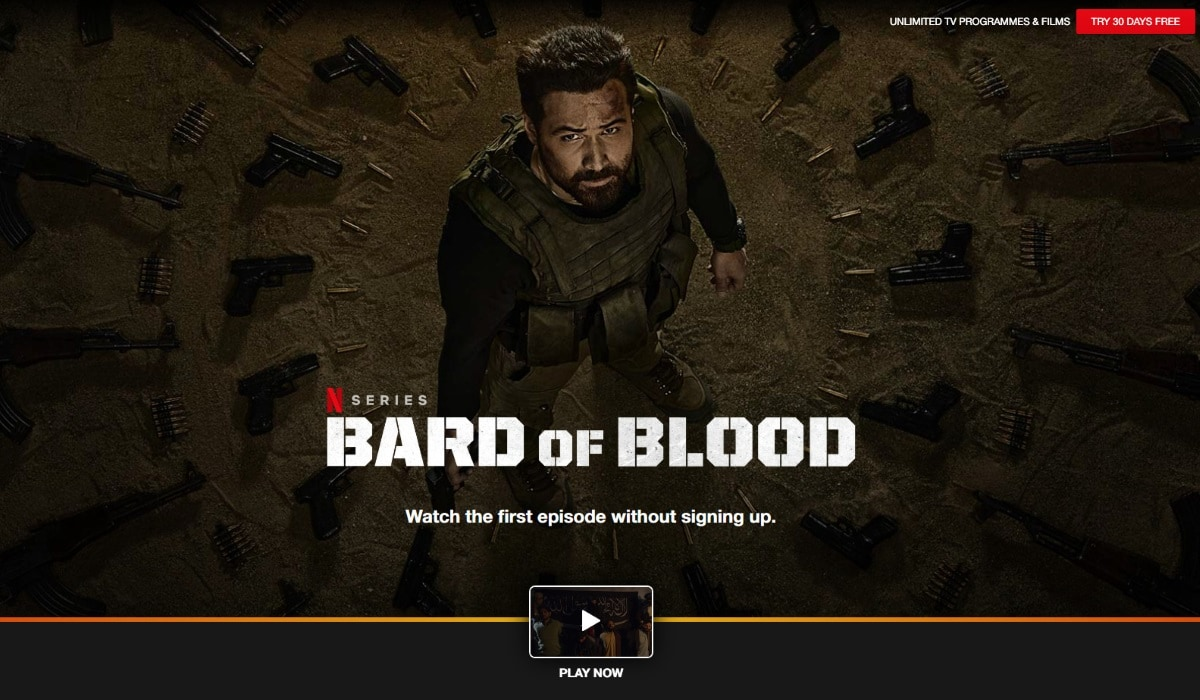 Bard of Blood: Netflix Tests Limited Free Access in India for Shah Rukh Khan-Produced Original