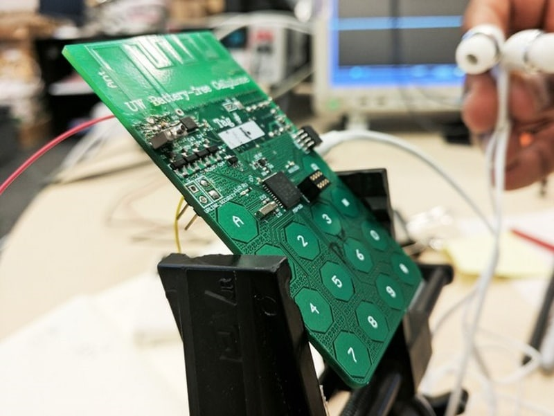 Battery Less Cellphone Prototype Harvests Energy Out Of