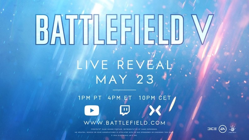 Battlefield V Trailer Confirms World War 2 Setting, Xbox One