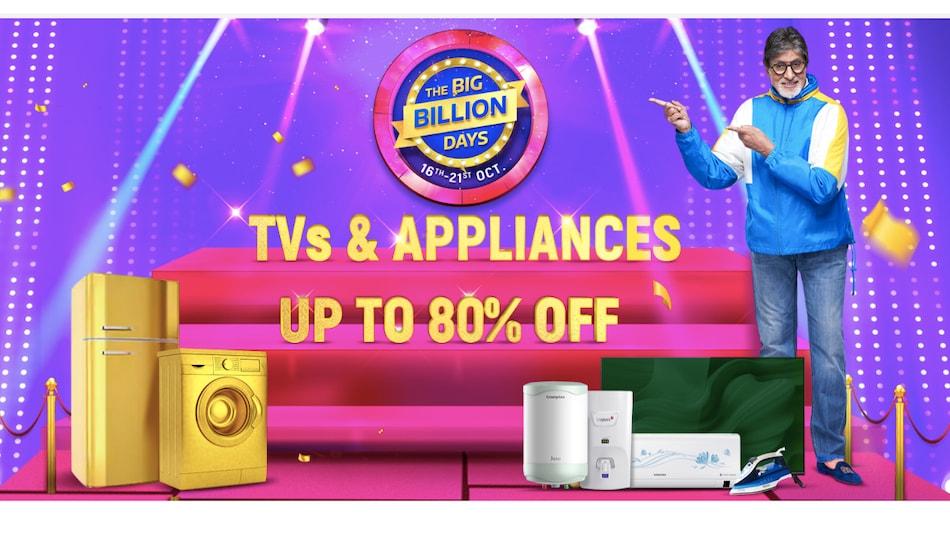 The Biggest Large Appliances Deals During Flipkart Big Billion Days Sale