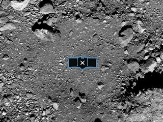NASA Selects a Sample Collection Site on Asteroid Bennu