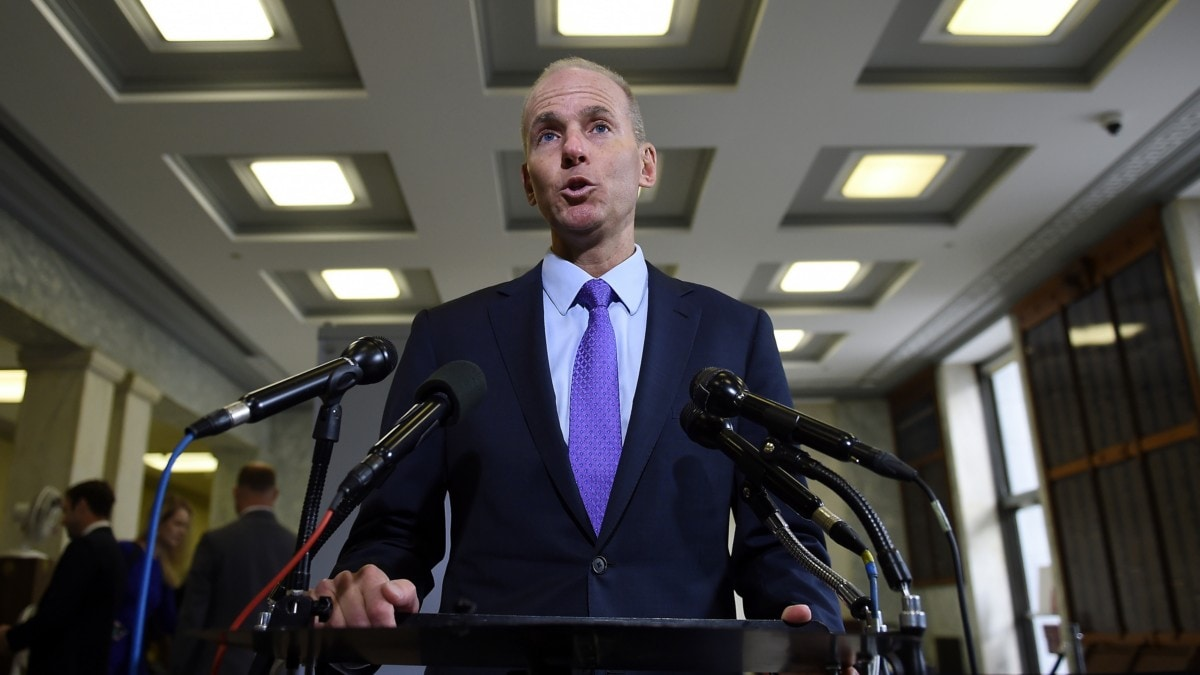 Boeing Fires Dennis Muilenburg, Names David Calhoun as CEO Amid Max Crisis