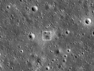 NASA Spots Israeli Spacecraft's Crash Site on Moon