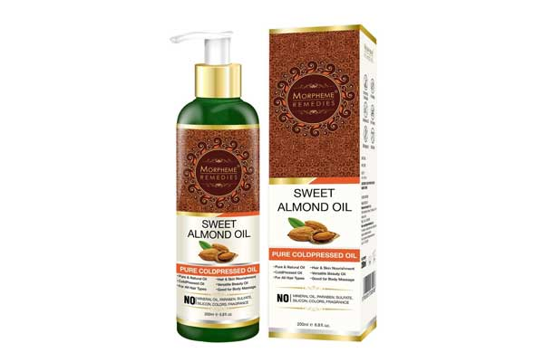 best almond oil in india morpheme