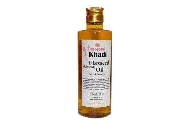 best flaxseed oil in india khadi omorose
