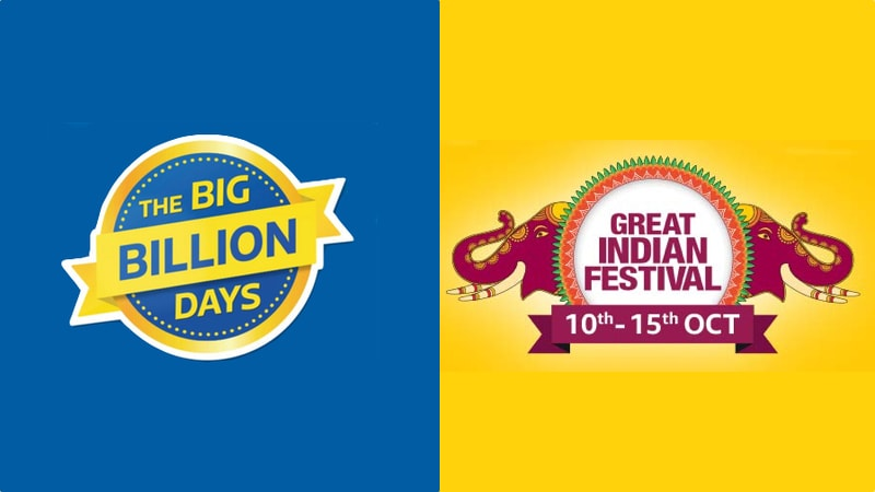 Flipkart Big Billion Days Sale and Amazon Great Indian Festival: How to Make Sure You Get the Best Deals