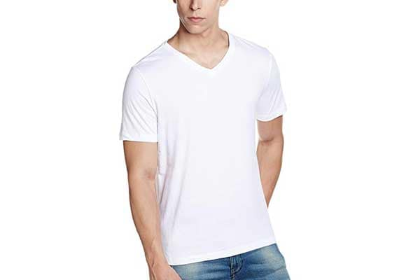 best t shirts for men in india GAP white t 1553249069596