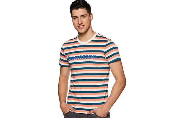 best t shirts for men in india united colours benetton striped 1553249264458