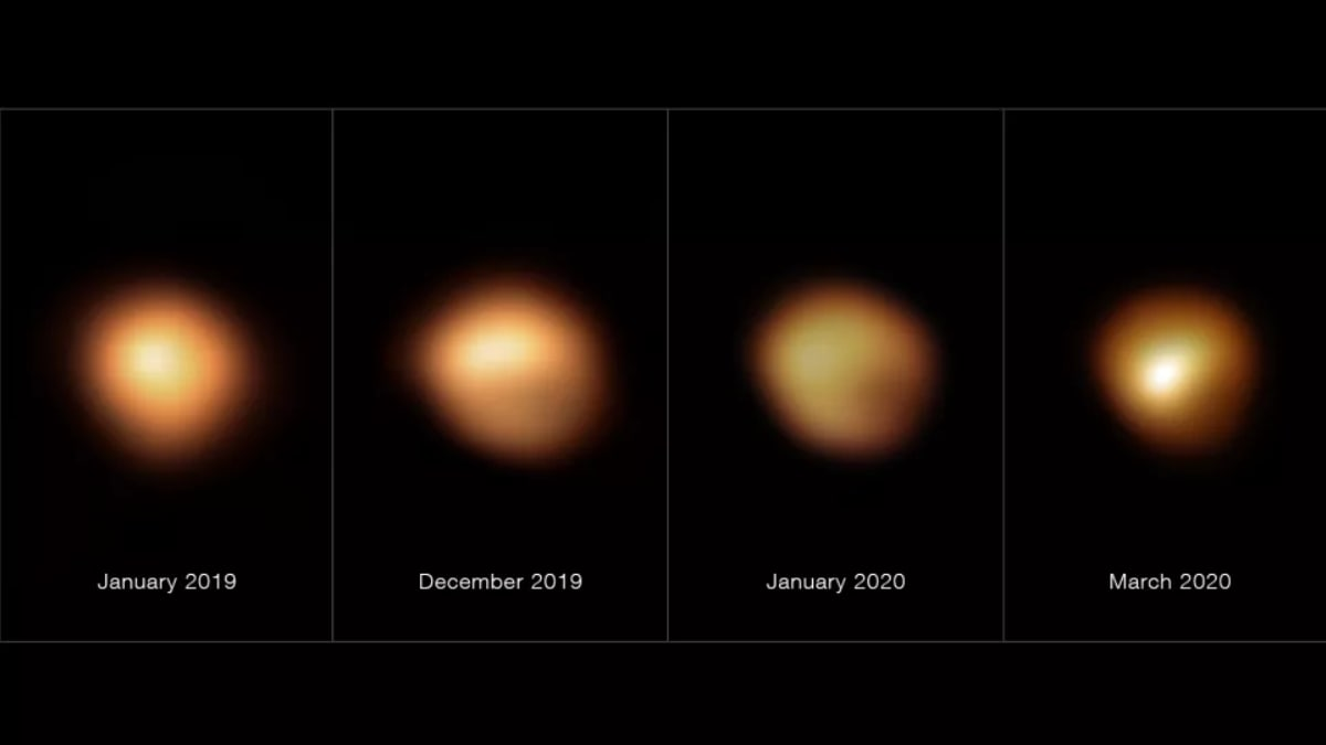 Dimming of Betelgeuse: Here's Why the Glow of One of Brightest Stars Faded