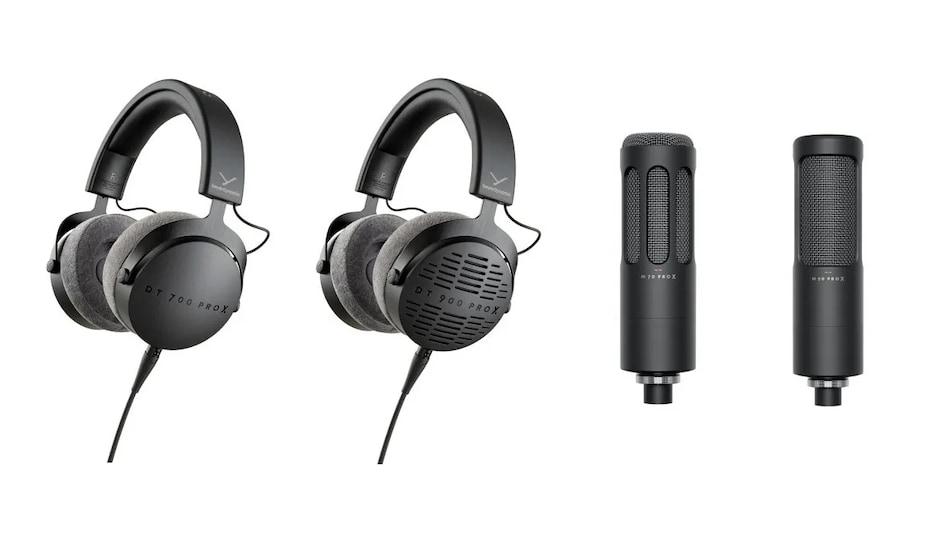Beyerdynamic DT 700 Pro X, DT 900 Pro X Headphones Launched Alongside M 70 Pro X, M 90 Pro X Microphones