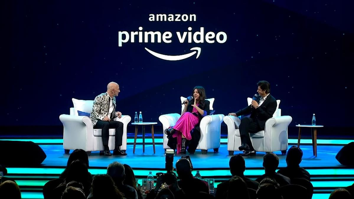 Jeff Bezos, Shah Rukh Khan, Zoya Akhtar Talk Amazon, Storytelling, Failures, Superstitions, and More: How to Watch