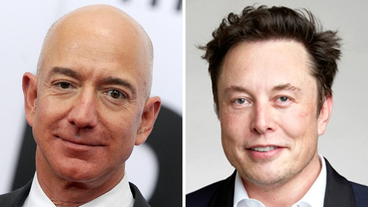 elon musk jeff bezos among us billionaires gaining net worth in pandemic report technology news elon musk jeff bezos among us