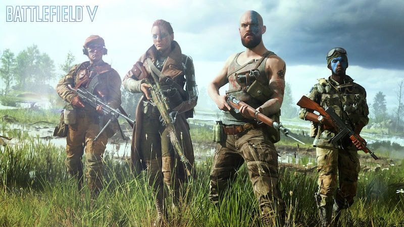 EA's New BATTLEFIELD V Trailer Offers a Glimpse of Multiplayer