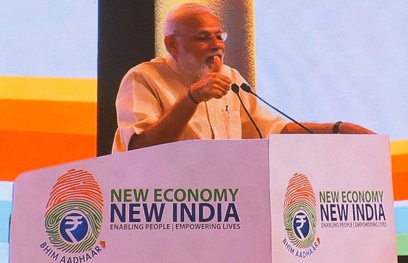 BHIM-Aadhaar Platform Can Revolutionise Indian Economy: PM Narendra Modi