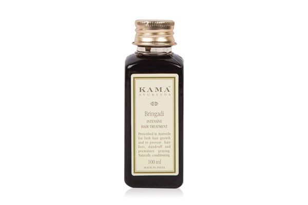 Best Bhringraj Hair Oils - Kama Ayurveda Bringadi Intensive Hair Treatment