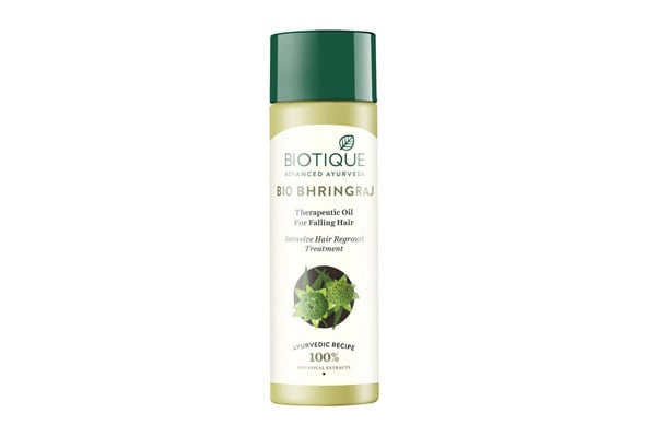 Best Bhringraj Hair Oils - Biotique Bio Bhringraj Fresh Growth Therapeutic Oil