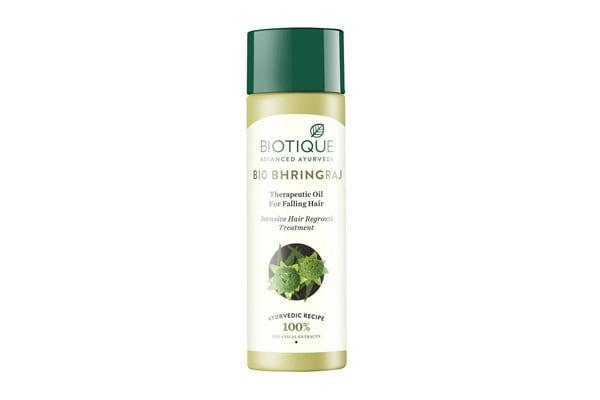 Best Bhringraj Hair Oils - Biotique Bio Bhringraj FreshGrowth Therapeutic Oil