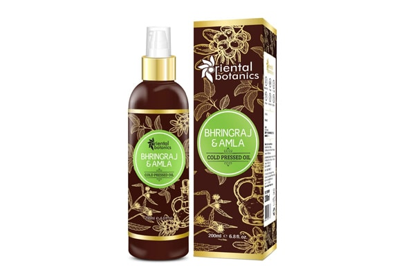 Best Bhringraj Hair Oils - Botanics Bhringraj & Amla Oil For Hair - 200ml