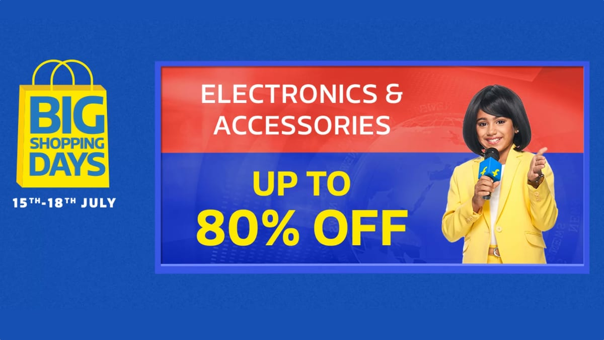 Flipkart Big Shopping Days Sale Last Day: Here Are the Best Offers Available Right Now