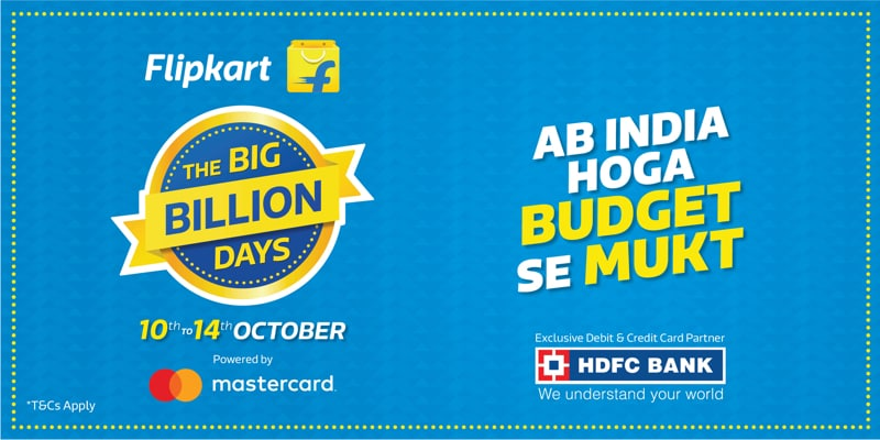 Flipkart Big Billion Days Sale 2018: iPhone XS, Redmi Note 5 Pro, Nokia 6.1 Plus, and Other Great Mobile Deals