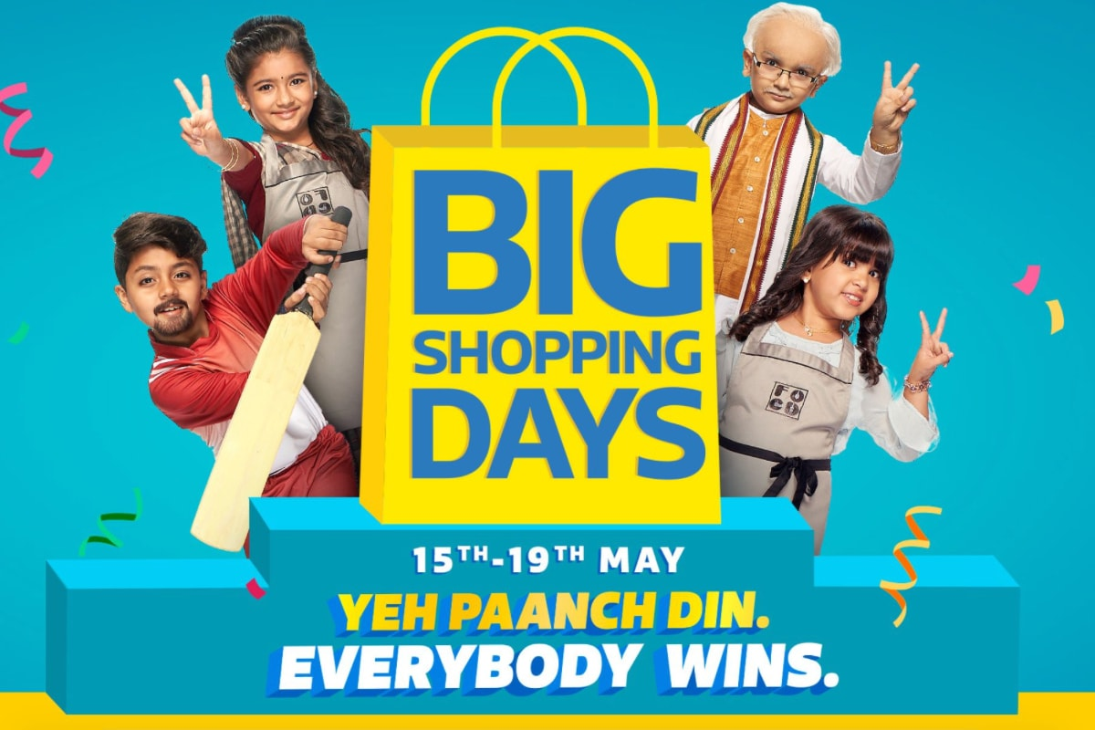 Flipkart Big Shopping Days Sale Goes Live For Everyone: Here Are the Best Offers Right Now