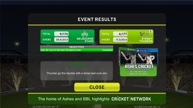 big bash cricket challenge mode Big Bash Cricket