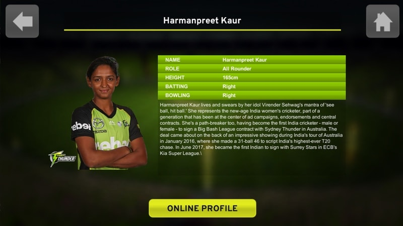 big bash cricket harmanpreet kaur Big Bash Cricket