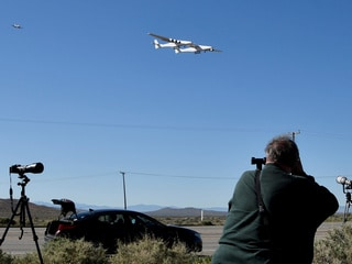 Stratolaunch Carries Out First Flight of 'World's Largest Aircraft'
