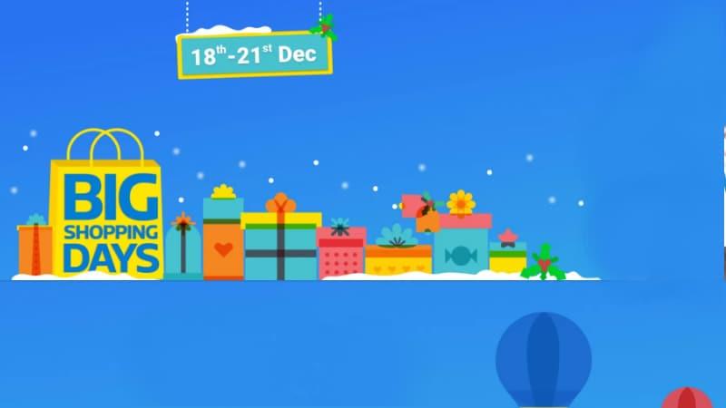 Flipkart's Big Shopping Days Sale to Begin on December 18